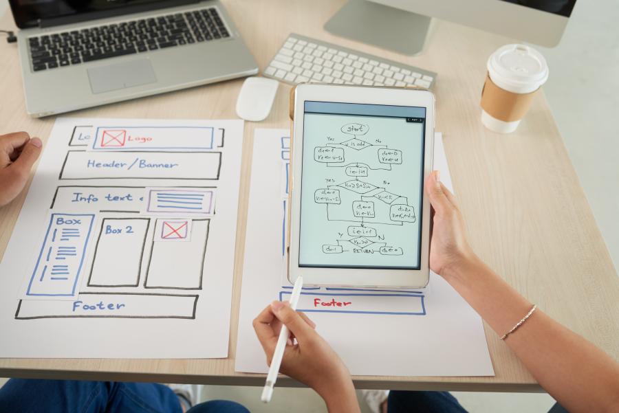 weboldal koncepció honlap készítés